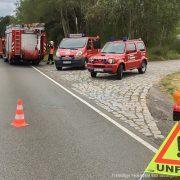 Verkehrsunfall B62 Bad Salzungen Richtung Ettmarshausen
