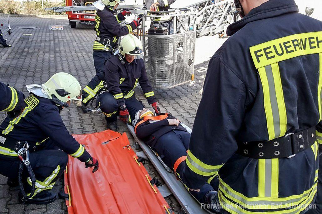 Sanitätsgruppe der Feuerwehr Bad Salzungen