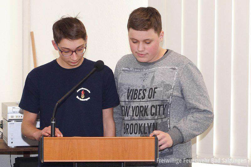 Berichte der Jugendfeuerwehr Bad Salzungen