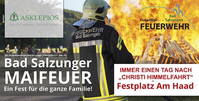 """Maifeuer-Sponsor """"Asklepios"""""""
