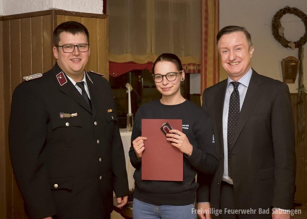 Joan Josephine Pfitzner - erste Atemschutzgeräteträgerin in Kaltenborn