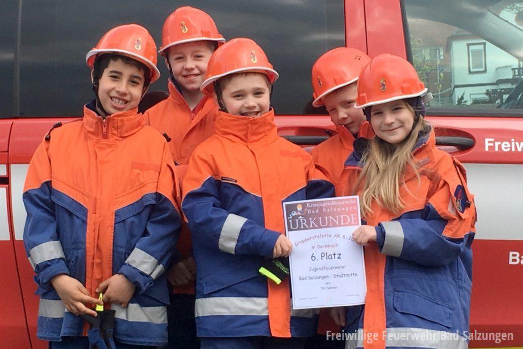 Jugendfeuerwehr Bad Salzungen qualifiziert sich für Landeswettbewerb!
