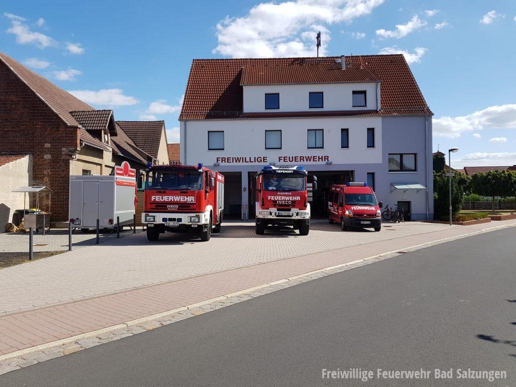 Freiwillige Feuerwehr Tiefenort | Foto: facebook/freiwilligefeuerwehrtiefenort